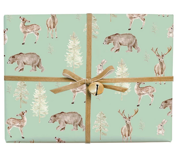 Forest and Fauna Gift Wrap