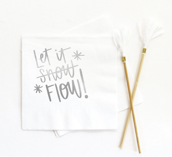 Let It Flow Napkins
