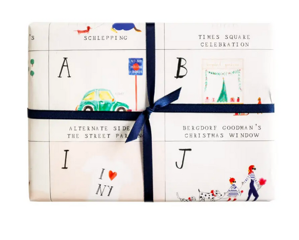 New York City ABC Gift Wrap