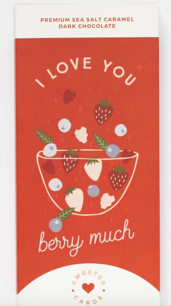 I Love You Card with Chocolate Bar inside