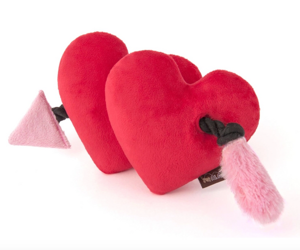 Fur Ever Hearts Dog Toy