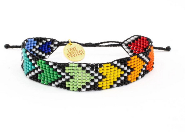 Rainbow River Hearts Bracelets