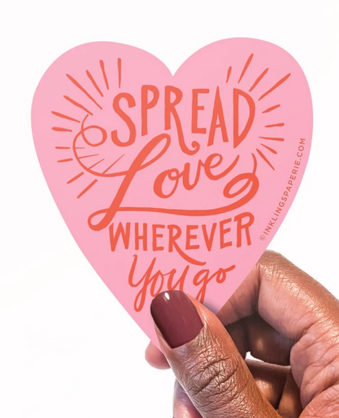 Vinyl Sticker - Spread Love