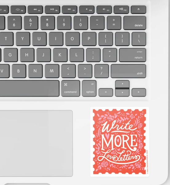 Vinyl Sticker - Write More Love Letters