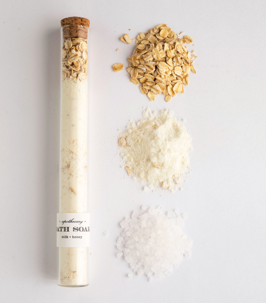 Milk and Honey Bath Soak Test Tube