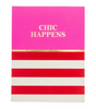 Chic Happens Pocket Note