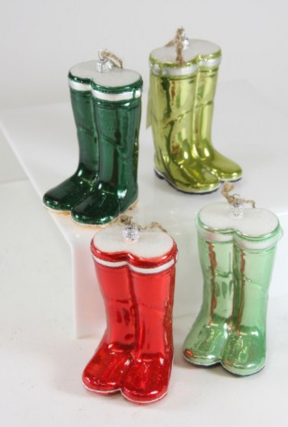Pair of Garden Wellie Ornaments