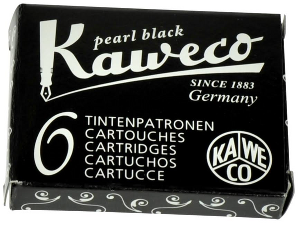 Kaweco Ink Cartridges - 6 Pieces - Black