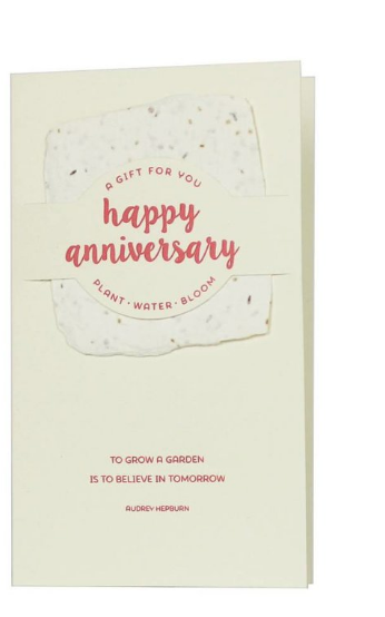 Wildflower Mix Notes - Happy Anniversary