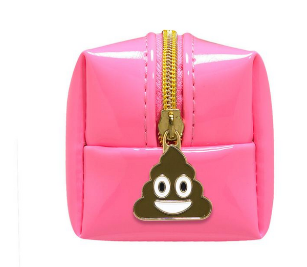 Minimergency Kit for Her Emoji It Happens - Neon Pink
