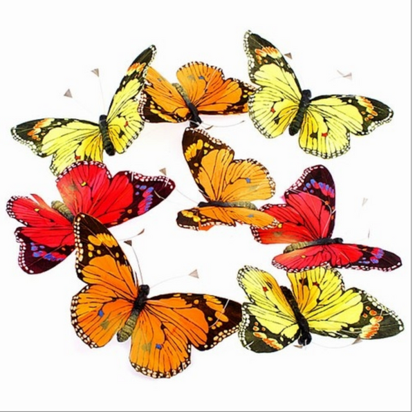 Fall Colors Jumbo Butterfly Garland
