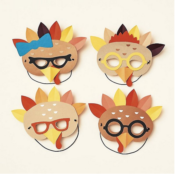 Turkey Masks Kit