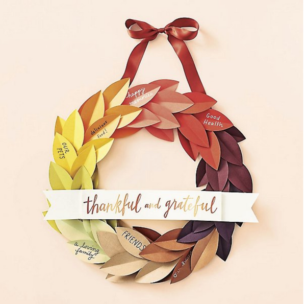 Thankful & Grateful Wreath Kit