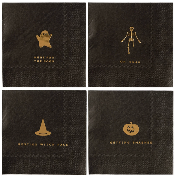 "Basic Halloween Icon - 5"" Napkins"