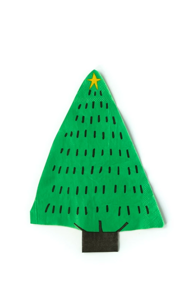 Holiday Tree Napkin