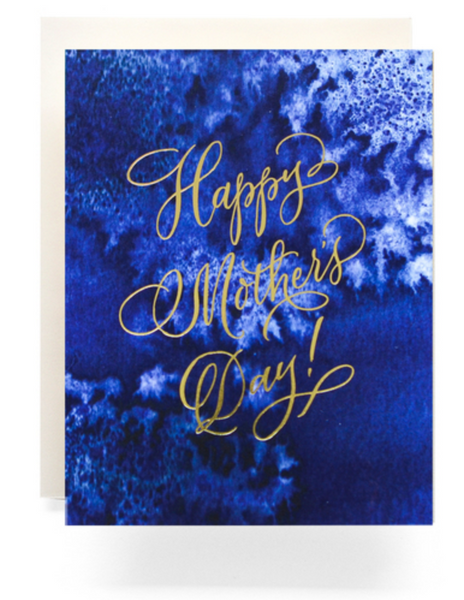 Indigo Mother's Day Greeting Card