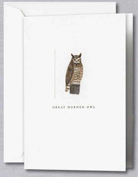 Great Horned Owl Note - S/10