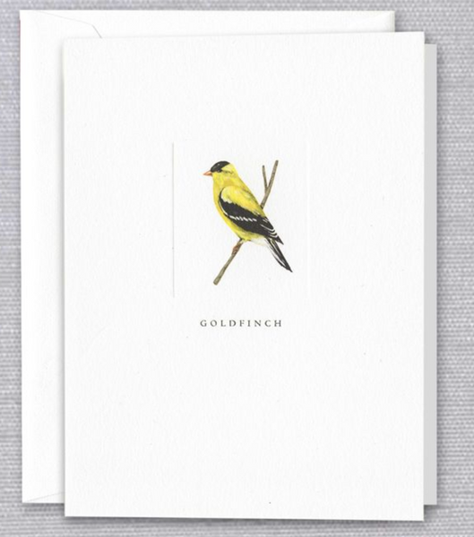 Goldfinch Note - S/10