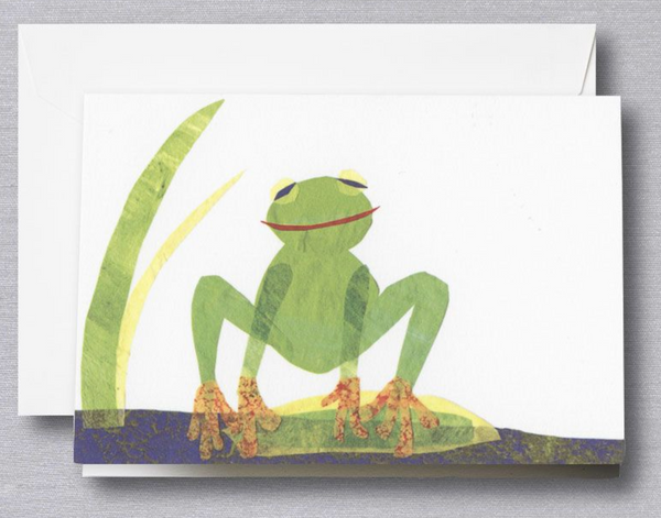 Cut Paper Frog note - S/10