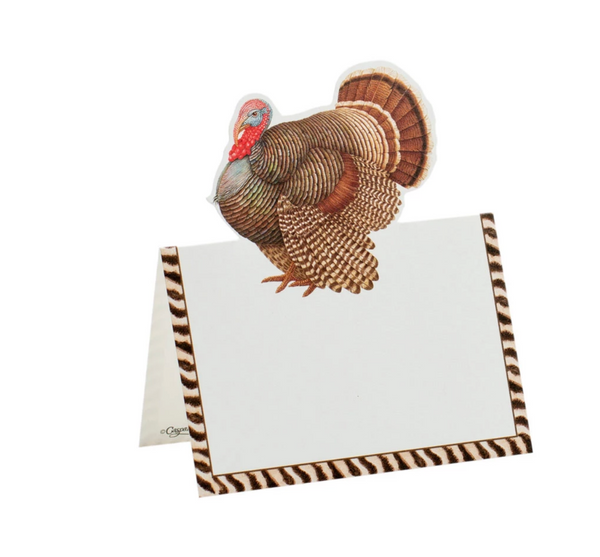 Thomas T. Byrd Die - Cut Thanksgiving Place Cards - Pack of 8