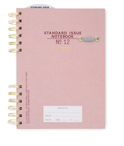 Standard Issue Notebook No. 12