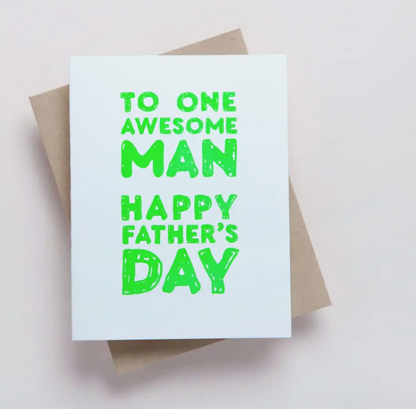 Awesome Man Card