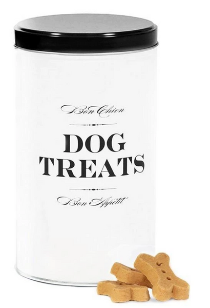 Bon Chien Treat Canister Black