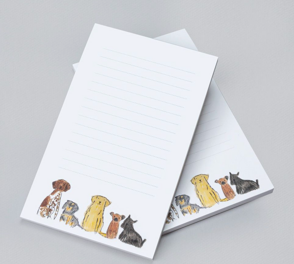Dogs Lined Notepad