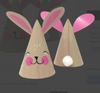 Bunny Mini Party Hats