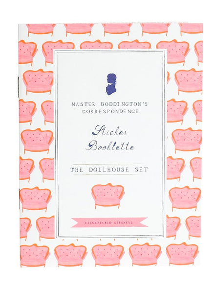 Sticker Booklette - The Dollhouse Set