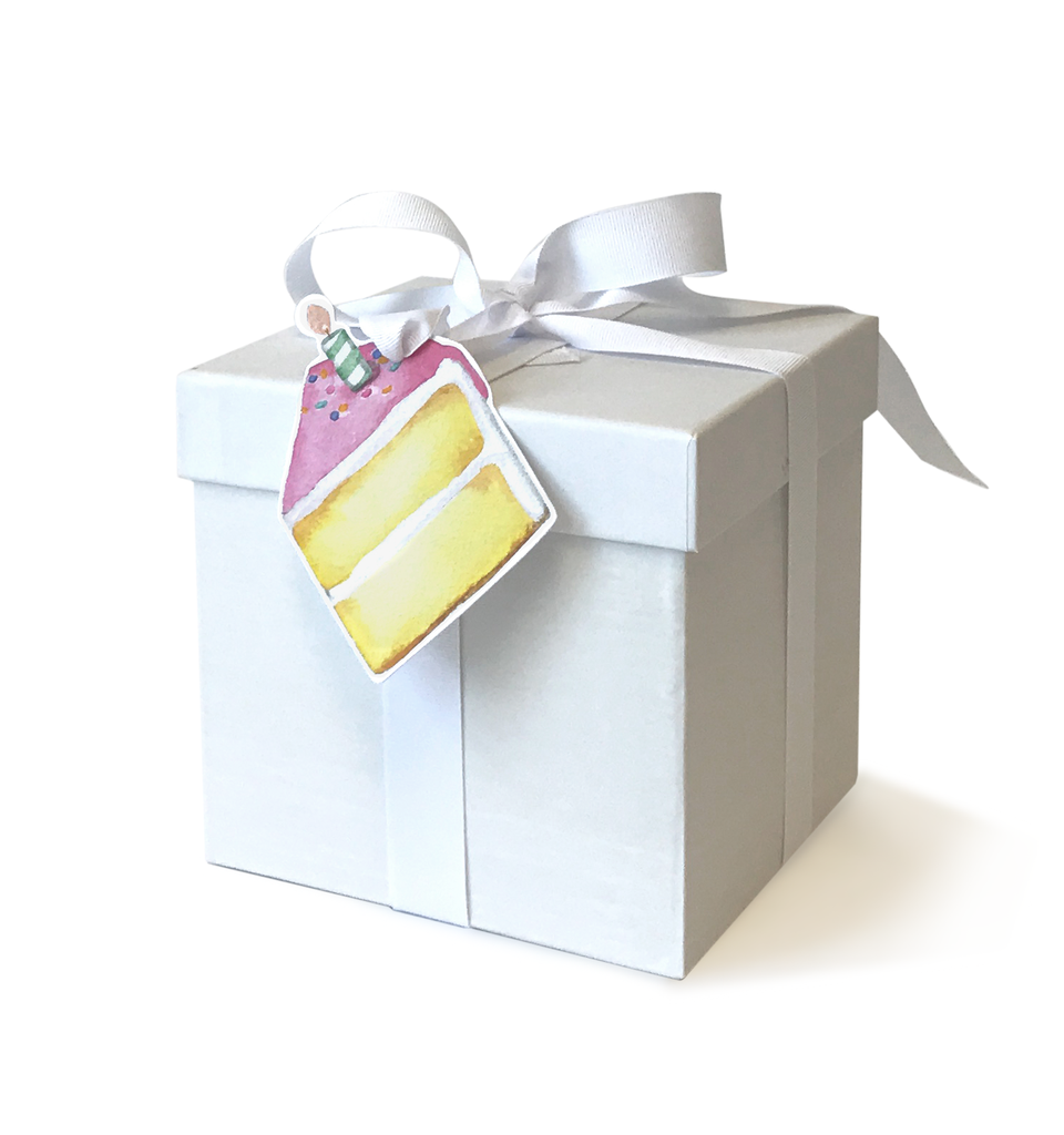Cake Gift Tags S/10
