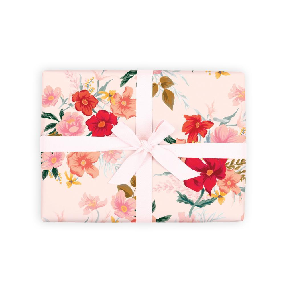 Poppy Sheet wrapping paper