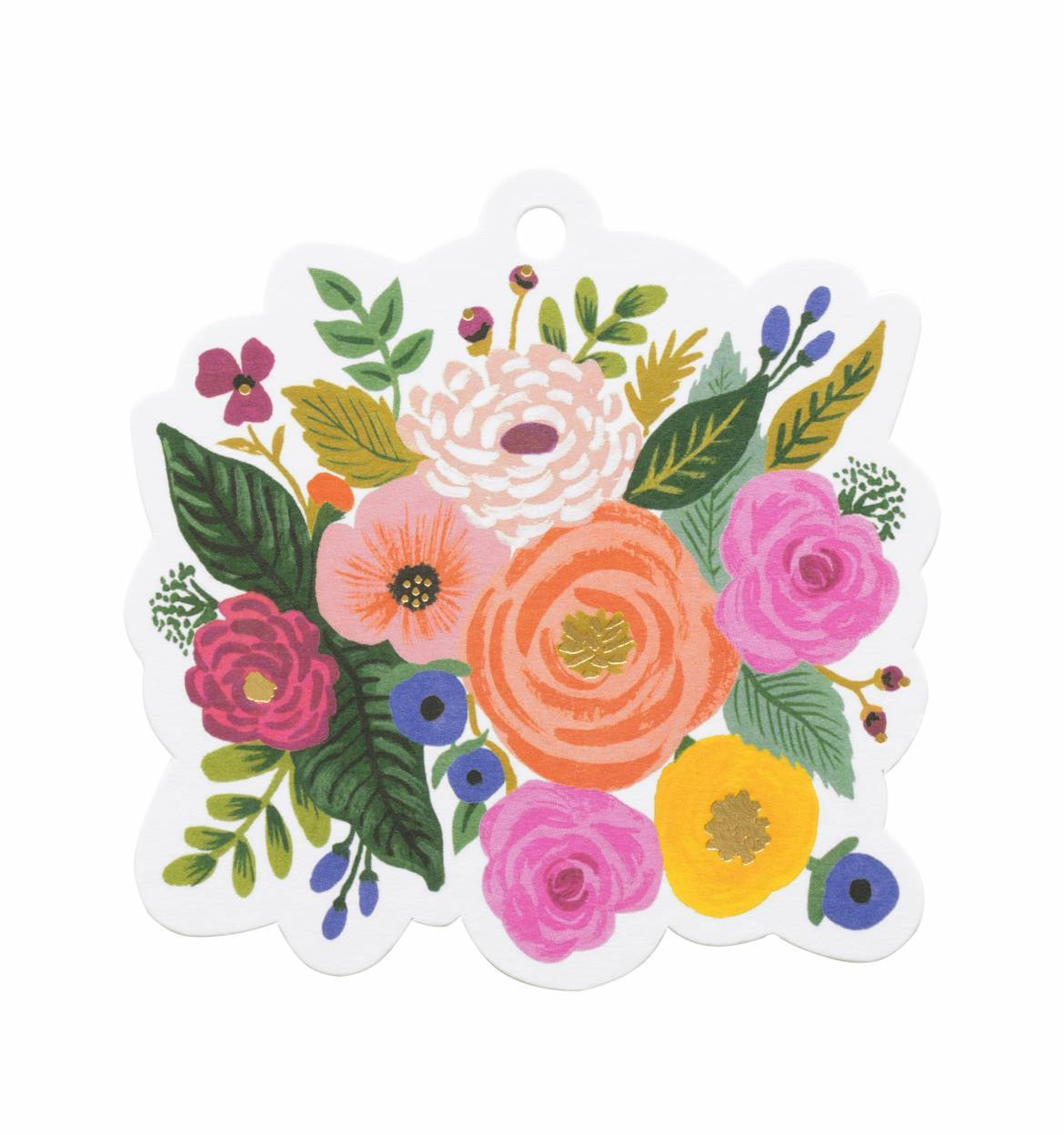 Individual Juliet Rose Die Cut Gift Tag