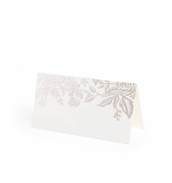 Pearl Jardin Place Cards S/8