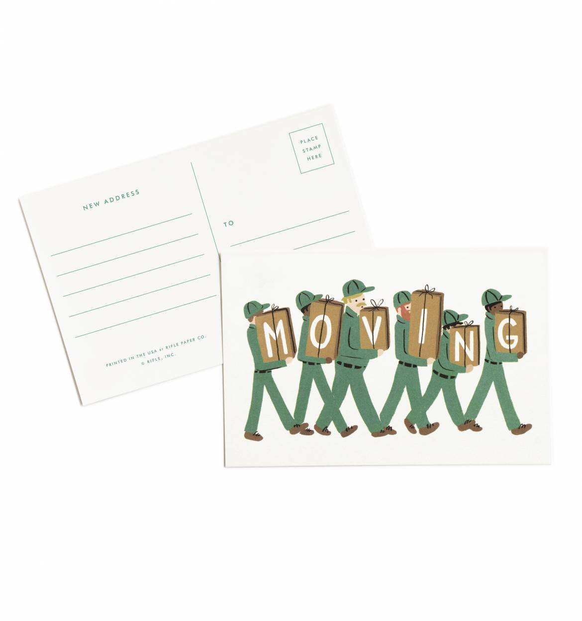 Pack of 10 Moving Postcards
