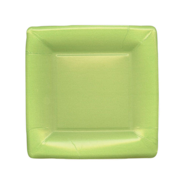 Grosgrain Border Moss Green SQ - Plates