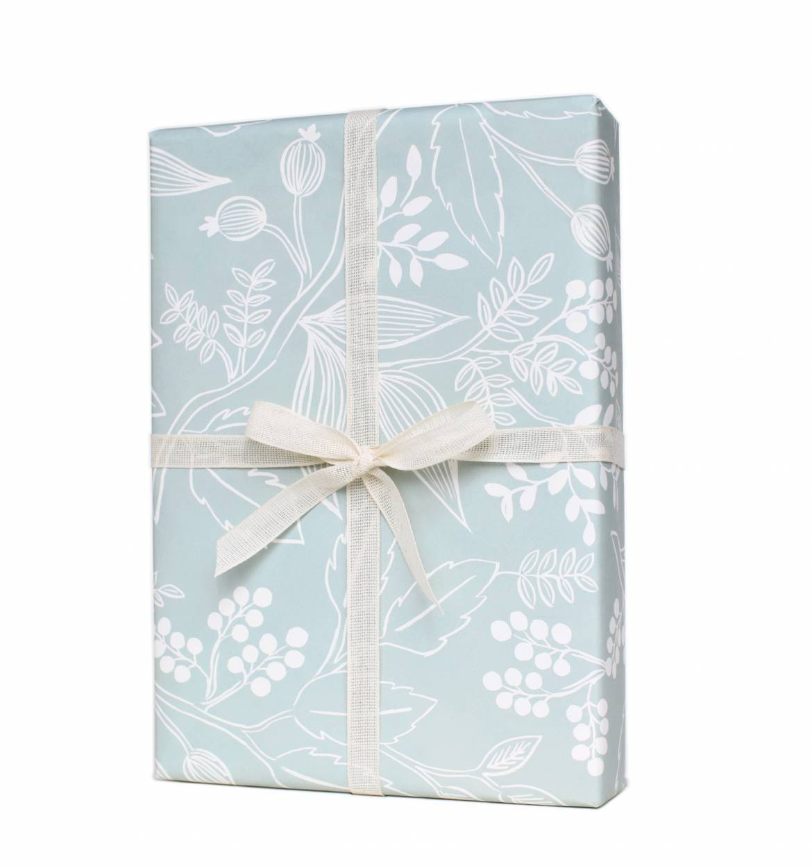 Single Spearmint Blossoms Wrapping Sheet (Flat)