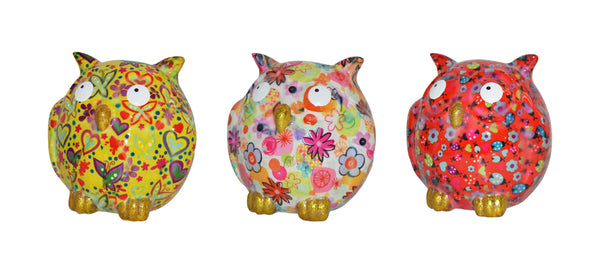 Zazou Owl Money Bank