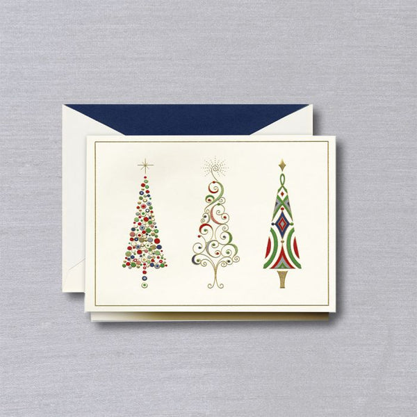 Viennese Trees Holiday Card S/10