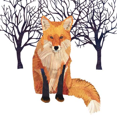 Bev - Winter Fox