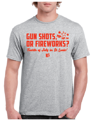 Gunshots or Fireworks? - Steryo Type Clothing & Psycho Babble