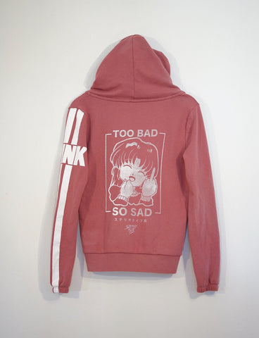 One off: To Bad/Pink - Steryo Type Clothing & Psycho Babble