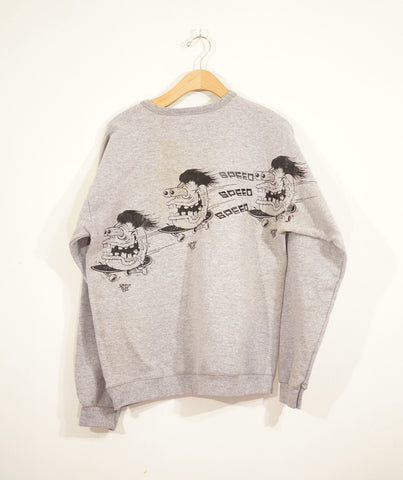 One off: Speeeeeed Sweatshirt - Steryo Type Clothing & Psycho Babble
