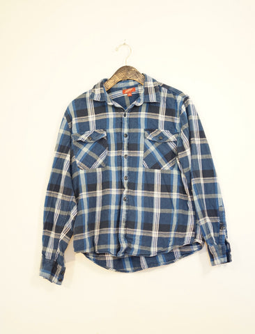 One off: Turning your ass down flannel - Steryo Type Clothing & Psycho Babble