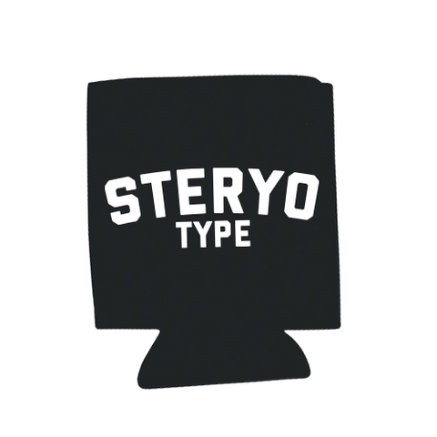 Koozie - Logo - Steryo Type Clothing & Psycho Babble