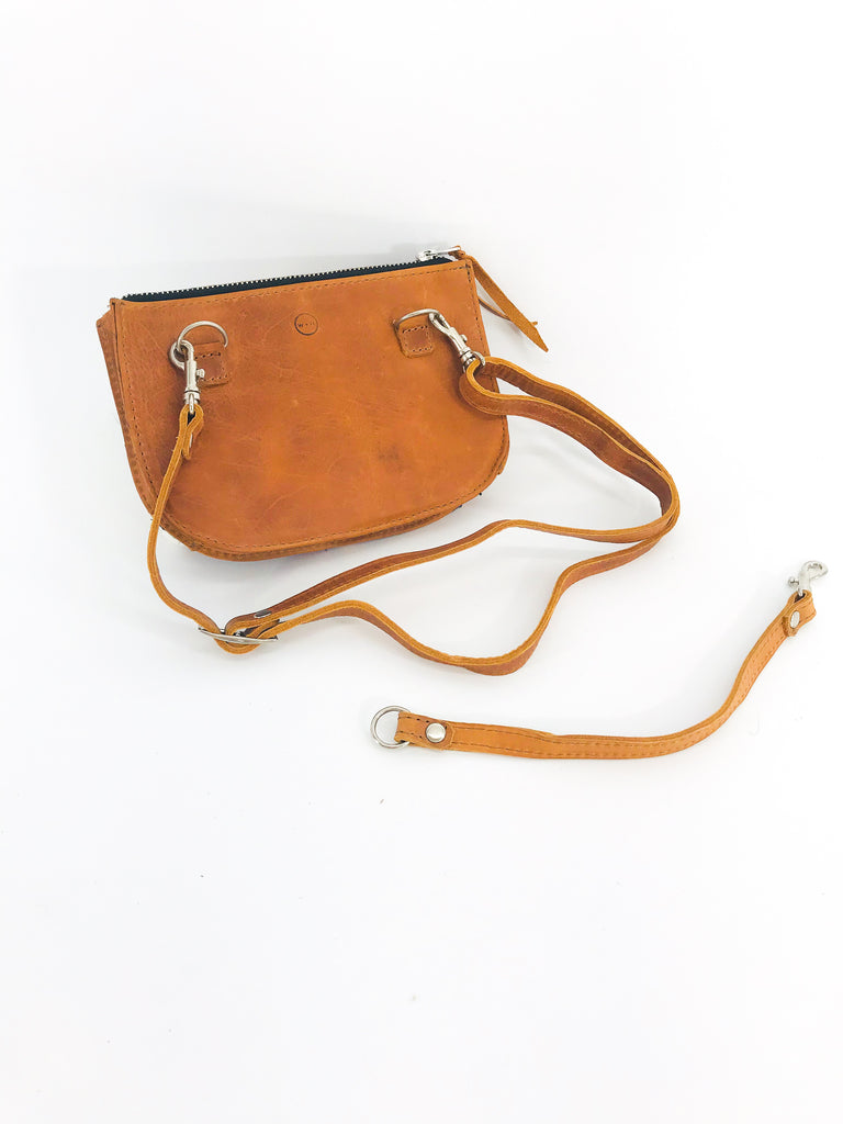 The 'Lily' Hip Satchel in Vintage Huipil #014