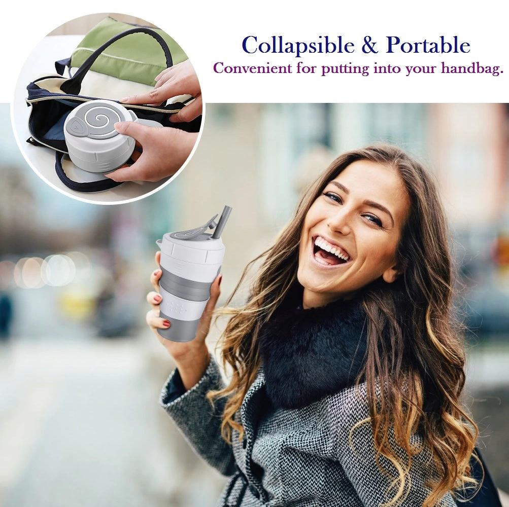 Collapsible Silicone Cup, Coffee Mugs-01