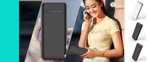 15600 mAh Power Bank.