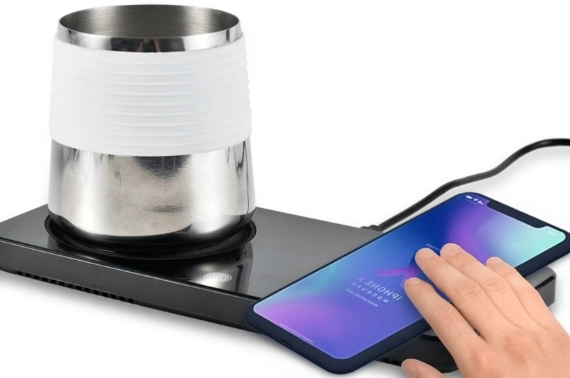 Smart Charge and Intelligent Wireless Thermostatic Cup