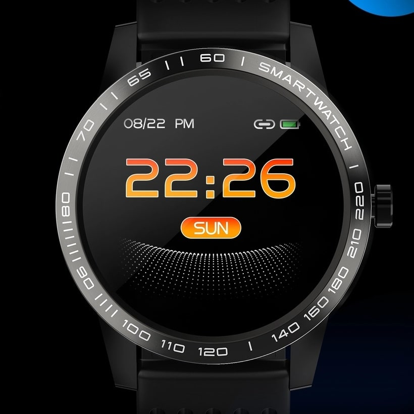 Smart watch T2, The latest waterproof sports smartwatch, IP67 img 1